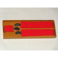 Red Suspenders - 3.5 cm