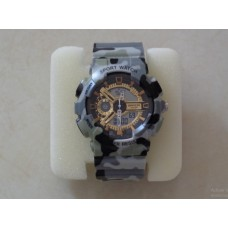 Military style watch for men