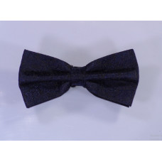 Modern discret bow tie - Black and blue