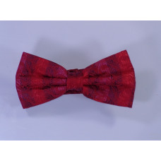 Red Bow Tie with Drawings