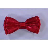 Red bow tie for mariage