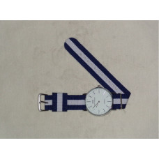 Look Matching Watch - White and Blue