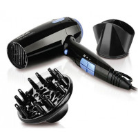 Foldable Hair Dryer - Taurus - Black