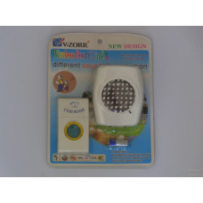 V-ZORR Black Doorbell