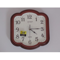 Quartz Wall Clock / Guten / Brown