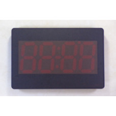 Mini Slim Digital wall watch with red led
