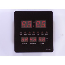 Slim Led Clock