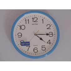 Silent Wall Clock - Sky blue